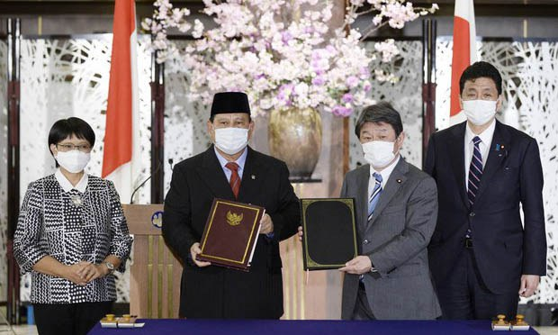 Japan, Indonesia Sign Defense Deal Amid Beijing's Maritime Expansion