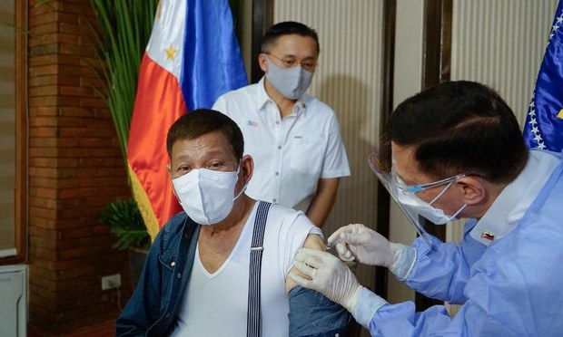 Duterte Apologizes for Getting Unauthorized Vaccine, Sends Doses Back to China