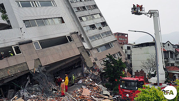 Taiwan Building Collapse