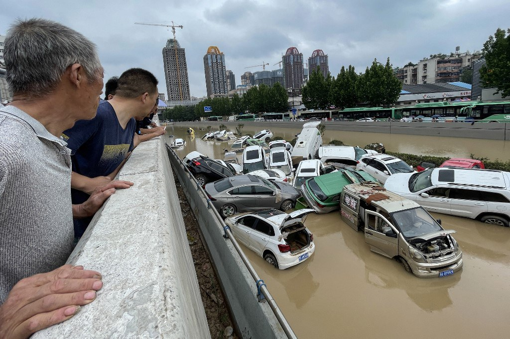 Flood-Hit Henan Struggles in Disaster Aftermath With More Rain Coming