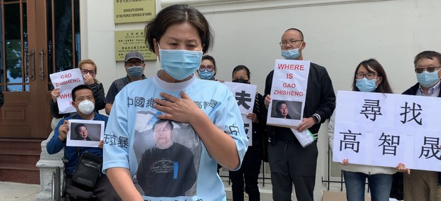 'I Will Treat The Chinese Consulate as My Husband's Cemetery'