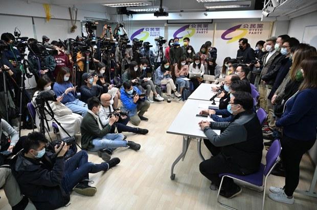 Hong Kong Police Arrest Dozens of Opposition Politicians, Activists For 'Subversion'