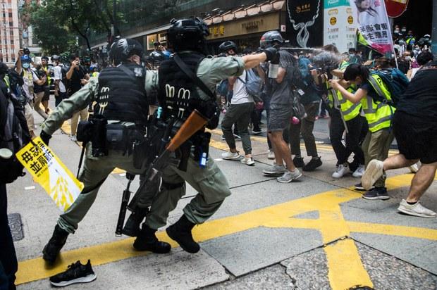 Hong Kong Falls Victim to 'Censorship Virus': Press Freedom Group