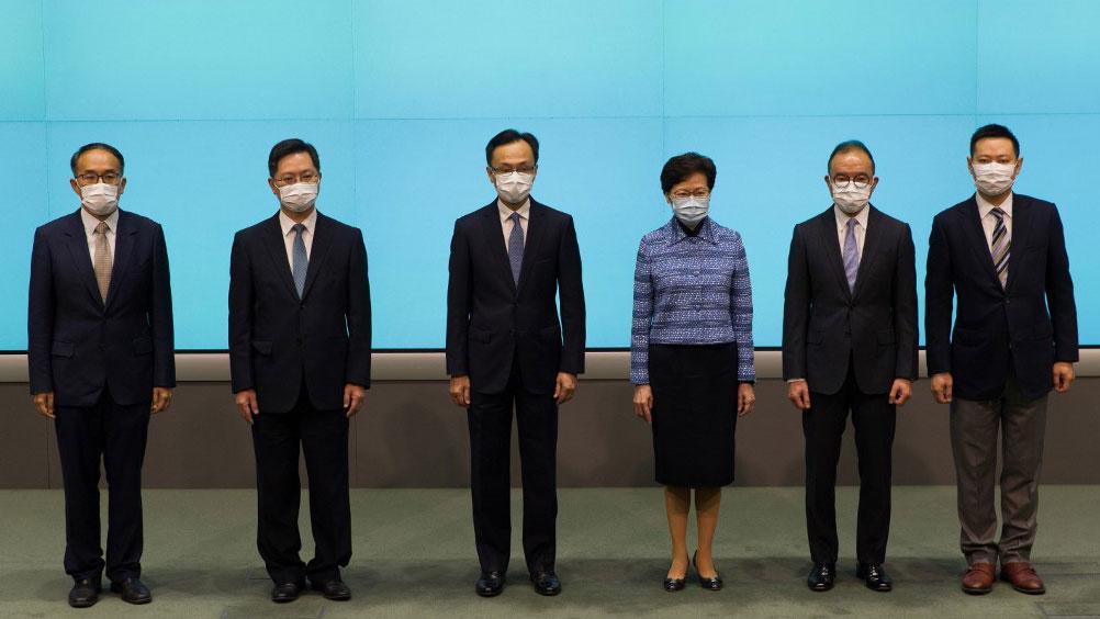 China Confirms Hong Kong Reshuffle in High-Profile Announcement