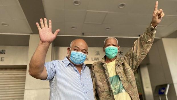Hong Kong Protester Sentenced as Terminally Ill Rights Activist Starts New Jail Term