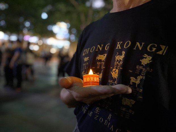 Tiananmen Massacre Vigil Organizer Arrested as Hong Kong Marks Anniversary