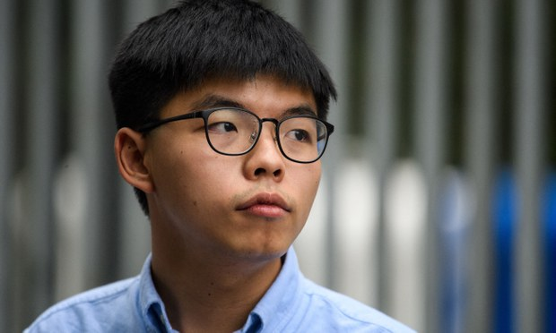 Hong Kong Court Jails Joshua Wong, District Councilors Over Tiananmen Vigil