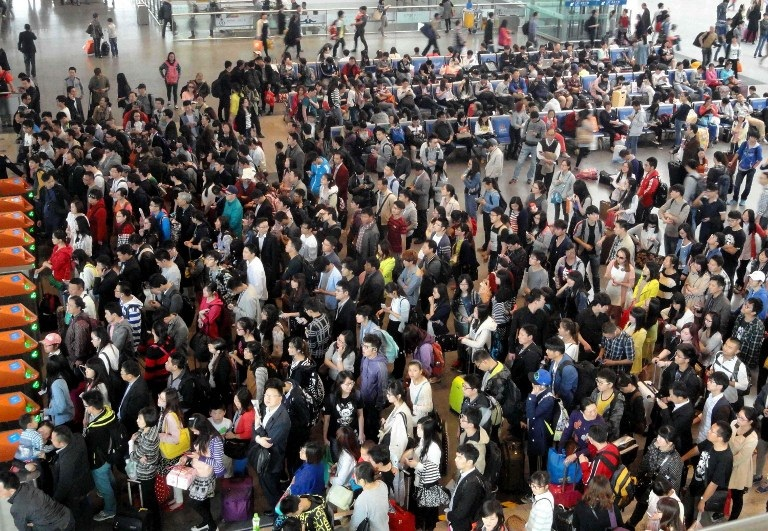 Overcrowding on China's Labor Day Sparks Calls for