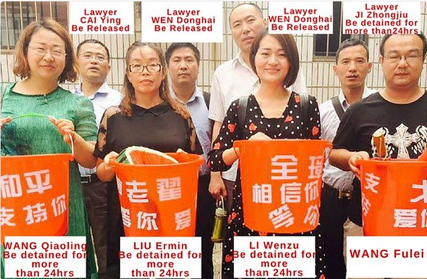 Lawyers' Wives, Attorneys Released After Street Protest in China's Tianjin