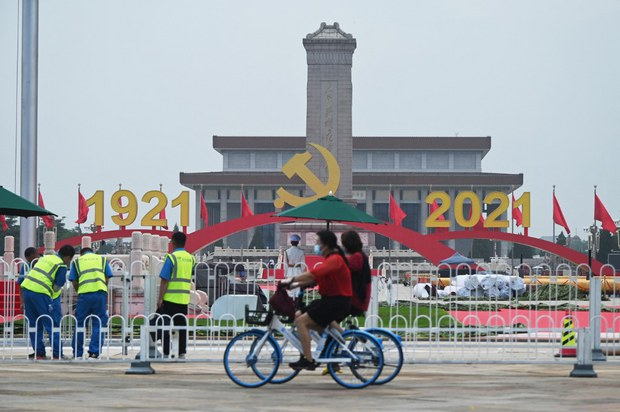 Beijing Braces For Centenary as Ruling Party Hits 95 Million Members