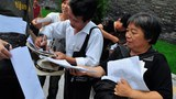 Petitioners in Beijing