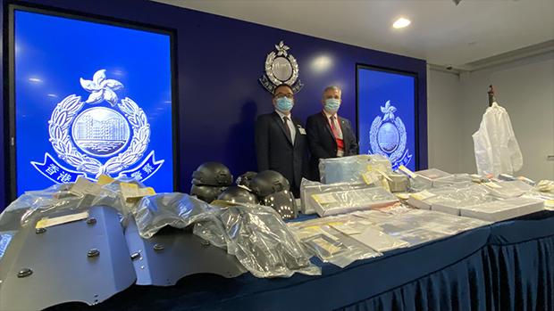 Nine, Including Schoolchildren, Arrested in Hong Kong Over Alleged Explosives Plot