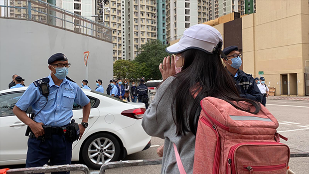 Eight of Hong Kong 12 Handed Over to Hong Kong Police by China