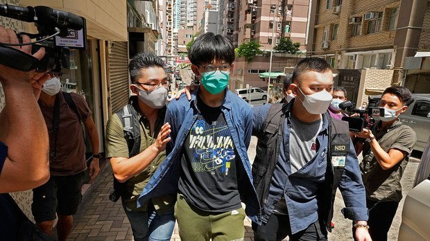 Hong Kong Police Arrest Four Students Over Motion Supporting Suicide Attacker