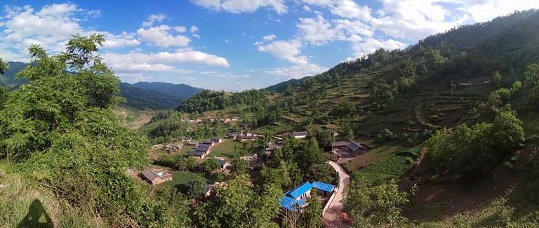 Meigu County in Liangshan Yi Autonomous Prefecture.