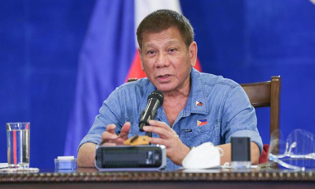 Philippine Leader Quashes Attempts to Probe COVID-19 Vaccinations Among Guards