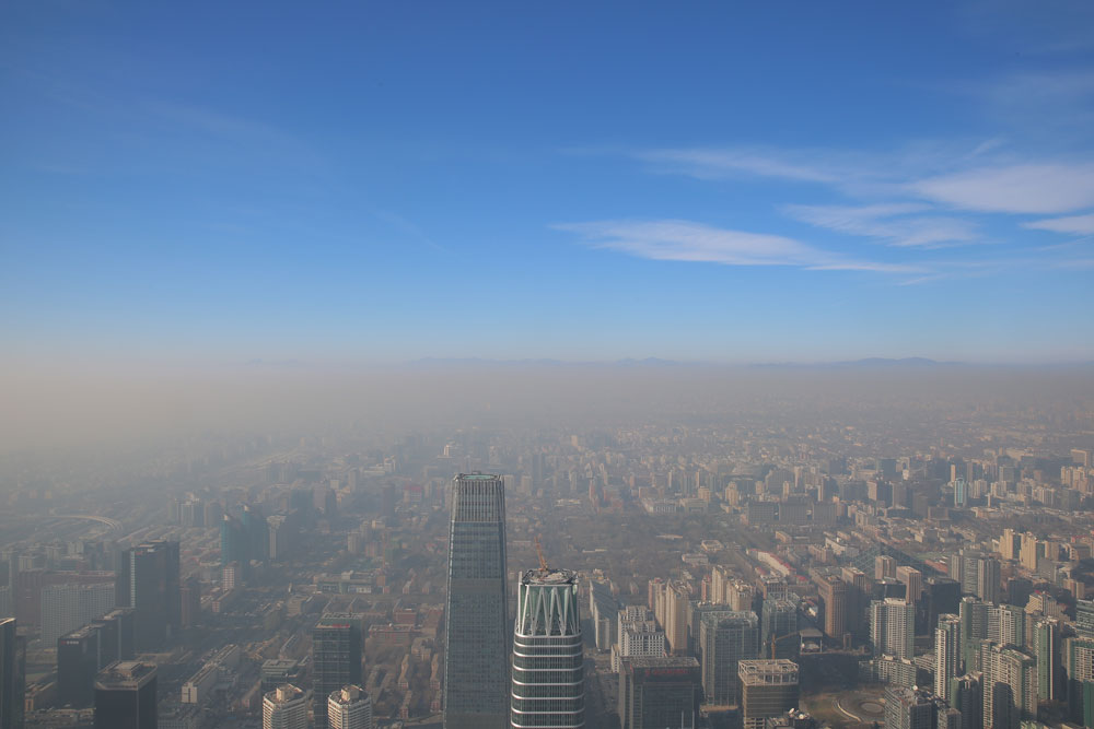 White pollution in china