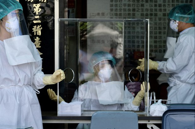 Taiwan Hospitals at 'Breaking Point' With Surge in COVID-19 Cases