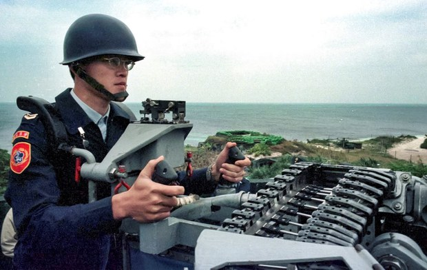 Chinese Drones Fly Near Taiwan-held Island in South China Sea