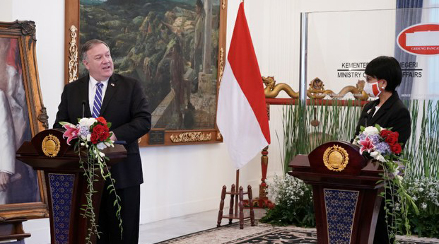 During Visit to Indonesia, Top US Diplomat Targets China in Fresh Diatribe