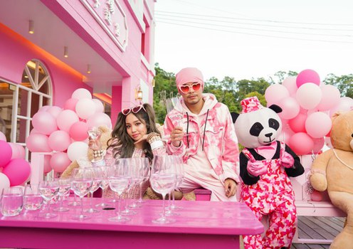 Australia's Kimberly Chen and Malaysian singer Namewee, in an undated photo.