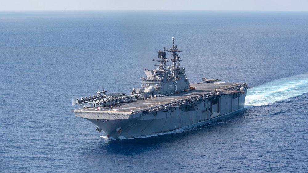 US Sends Two Warships Into South China Sea as China Surveys Off Malaysia — Radio Free Asia