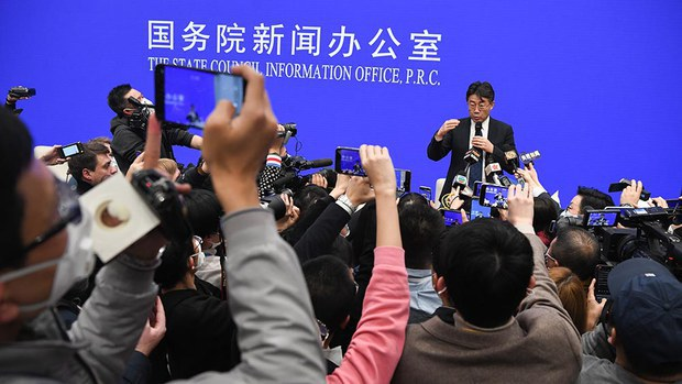 China Includes State Journalists' Social Media Posts in Vetting Process