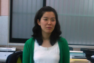 Chae Hye-Seong, director of research at the Yeomyung School for defectors in Seoul, in July 2009. RFA photo.