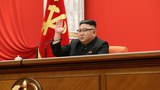 North Korean leader Kim Jong Un attends the 8th Congress of the Workers' Party in Pyongyang, North Korea, in this photo supplied by North Korea's Central News Agency (KCNA) on January 11, 2021.