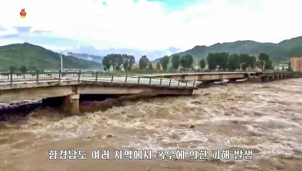Thousands Evacuate Homes as Heavy Rains Flood North Korea