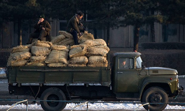 North Korean Security Services Given Food for a Year While Others Go Hungry