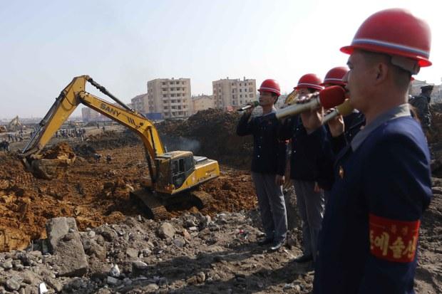 North Korean Capital Demolishes Many Neighborhoods for Kim Jong Un's '10,000 New Homes' Plan