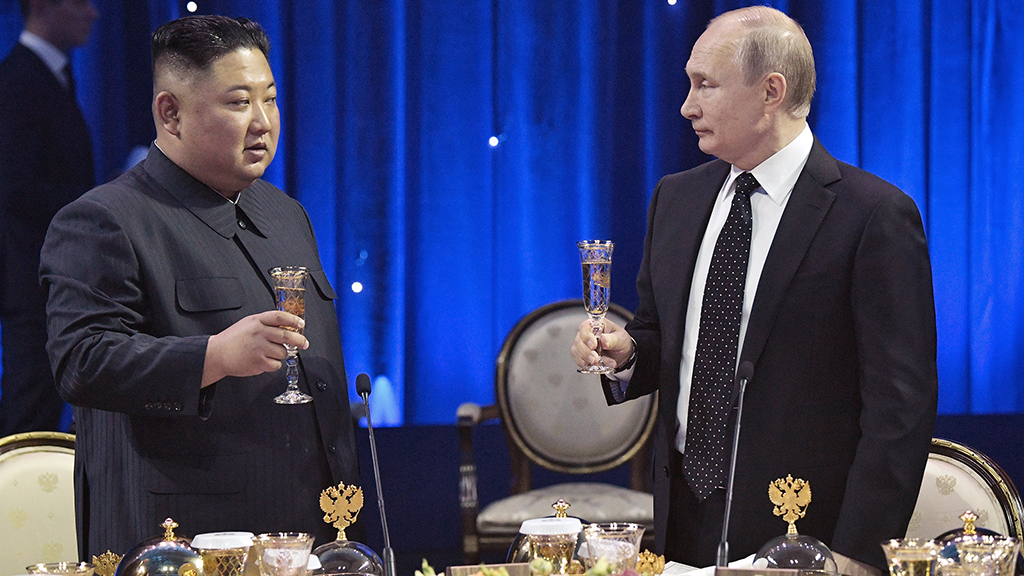 No Breakthoughs from Kim Jong Un-Vladimir Putin Summit in Vladivostok