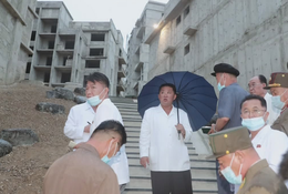 North Korean leader Kim Jong Un builds luxury villas over grandfather's old home