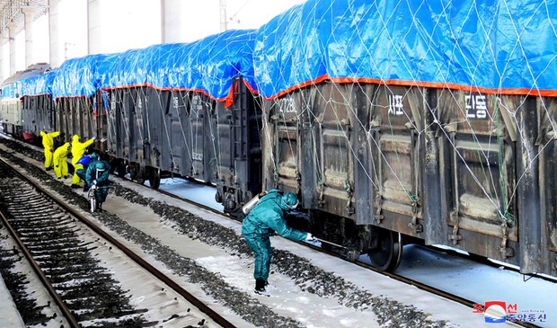 China Secretly Sends Food Aid to North Korea by Rail
