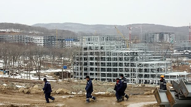 North Korea Taps Workers in Russia to Fund Pyongyang Construction