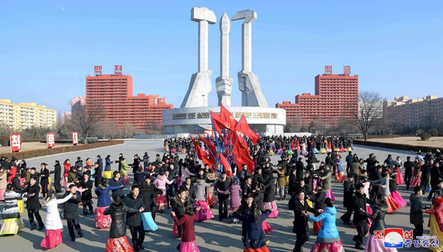North Korea Mobilizes Citizens for Kim Jong Il Birth Celebration Amid Covid-19, Cold Temperatures