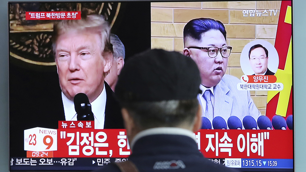 Image result for trump kim meeting asian