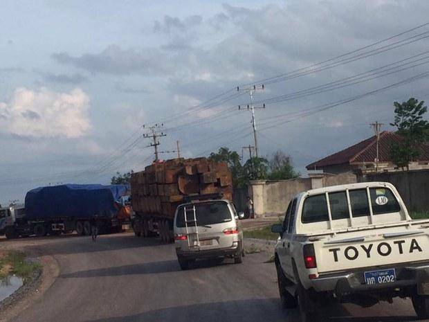 Laos Prime Minister Asks Public to Help Cut Down the 'Log Mafia'