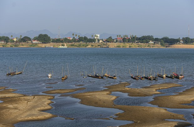 MRC Blames Mekong River's Blue Hue on Upstream Outflow Restrictions, Decreased Rainfall