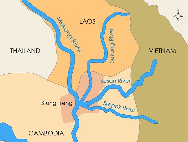 Lao Dams, Mining Ruining Sekong Water Quality in Cambodia