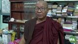 Ven. Ariyabiwuntha, the abbot of Myawaddy Mingyi Monastery in central Myanmar, in an undated photo.
