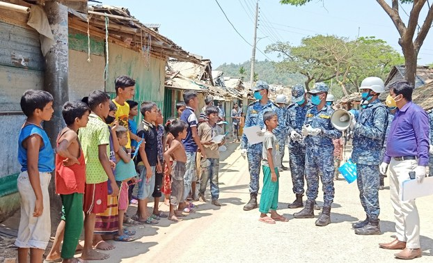 First Rohingya Refugee in Bangladesh Tests Positive for COVID-19