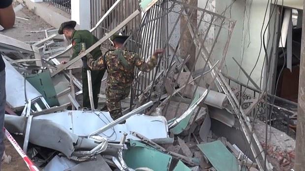 Two Killed, 22 Injured in Bomb Blast in Myanmar's Lashio — Radio Free Asia