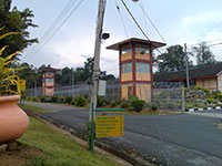 Malaysia's secret immigration prison near the Thai-Malay border (Blantik Camp). More than 120 Burmese are being detained here before deportation. Photo: RFA/Kyaw Min Htun