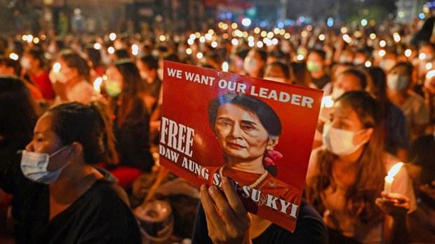 Myanmar Junta Blocks Cash For Detained Aung San Suu Kyi