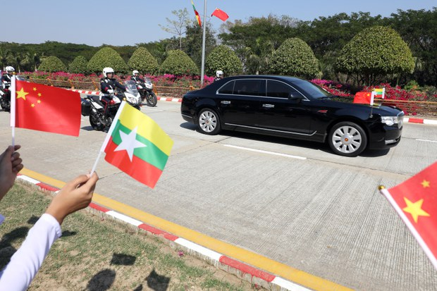 China Online Meeting Including Myanmar's NLD Seen as Recognition of Ousted Myanmar Party's Influence
