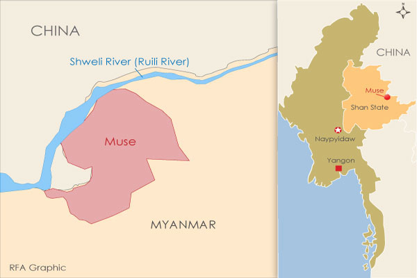 Chinese Authorities Demand Money From Detained Myanmar Migrants in on