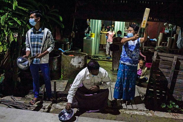 Citizens Clamor Against Myanmar Coup as Detained Leaders Demand Freedom