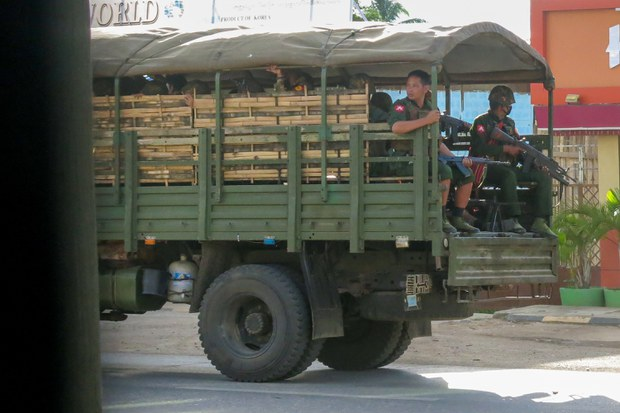 Fresh Clashes in Myanmar's Remote Ethnic Regions Lead to Casualties, Displacement